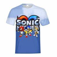 Sonic the Hedgehog Kids T-shirt  All-Over Print Short Sleeve FunnyTee Custom