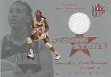 2004 Fleer Ultra Wnba Scoring Stars Game Worn Jersey * Tamika Catchings * Utenn
