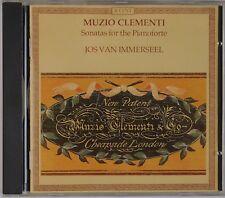 CLEMENTI: Sonatas for Pianoforte, Piano IMMERSEEL Accent CD NM