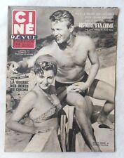 CINE-REVUE 7 novembre 1952 JACQUES SERNAS LUCIENNE VEDOVELLI VAN JOHNSON SIMON