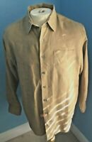 Joseph & Lyman Linen Long Sleeve Shirt Size M - FREE SHIPPING