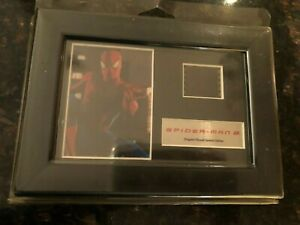 SPIDER-MAN 2 Original Mini- Film Cell Clip Framed Special Edition with COA