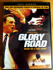 Glory Road (DVD, 2006, Full Frame) Walt Disney Basketball Movie Film Family Fun