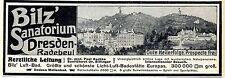 Dr. Paul Aschke / Dr. Bilfinger Bilz Sanatorium Dresden- Radebeul Wellenbad 1912