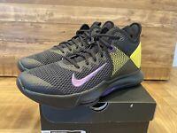 Nike Men's Lebron Witness IV Basketball Shoes, Size 11, Black Purple