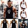 USA Gym Men's Muscle Sleeveless Tank Top T-Shirt Bodybuilding Sport Fitness Vest