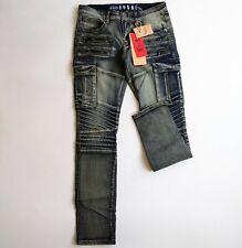 Fusai mens 100%authentic size 32/32 long jeans blue