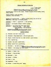 1930's NFL Scouting report - Green Bay Packers & Chi Cardinals - Curly Lambeau!!