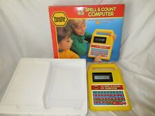 Vintage 1990 Playtime Touch & Learn My first Spell & Count Computer Educational