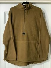 USGI USMC Peckham Polartec Fleece Pullover Jacket XL Coyote Brown XLARGE CIF