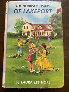 Vintage Bobbsey Twins Book The Bobbsey Twins of Lakeport  Laura Lee Hope