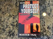 HOW TO PROTECT YOURSELF AGAINST WEAPONS RARE NEW VHS! NOT ON DVD MASTER TSAI HTF