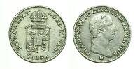 pcc1153_1) MILANO - FRANCESCO  I (1815-1835) - 1/4  LIRA AUSTRIACA 1823 AR