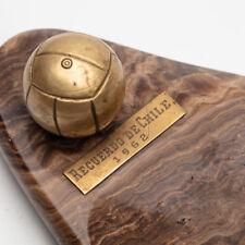 VTG 1962 World Cup Soccer Football  Recuerdo De Chile 1962 Ashtray Pipe Rest