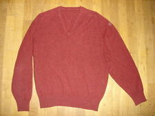 Pull col V pure laine d'agneau  taille 54 EUR mande in great britain