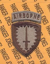 Special Operations Command Europe Airborne SOCEUR Multi Cam patch