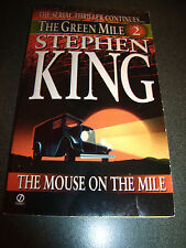 The Green Mile Part 2 - The Mouse on the Mile by Stephen King (1996, Paperback)