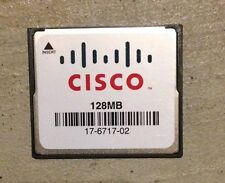 Genuine Cisco 128 MB CF Compact Flash Memory Card 1841 2801 2811 2821 2851 3745