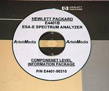 HP E4401B Component Level Info Package  (Schematics)
