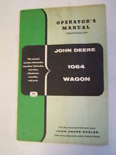 John Deere Operator's Manual Side Delivery Rakes No. 594 Om-E7-352