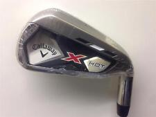 NEW MENS CALLAWAY X HOT 6 IRON GOLF CLUB RIGHT HAND STIFF FLEX STEEL SHAFT RH
