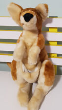 WILDLIFE WARRIORS AUSTRALIA ZOO KANGAROO PLUSH TOY SOFT TOY 41CM TALL