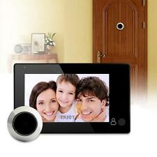 4.3 inch LCD Digital Peephole Viewer 145° Door Eye Video Camera Security Monitor