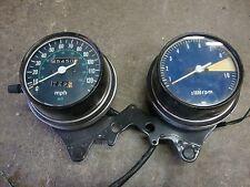 1977 1978 Honda CB750k GAUGES Tachometer Speedometer W MOUNT  cb-750