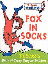 USED (GD) Fox in Socks (Dr.Seuss Board Books) by Dr. Seuss