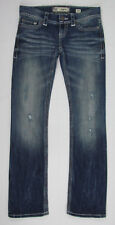 BKE Sabrina Boot cut jeans distressed white stitching Blue Womens Size 26 R