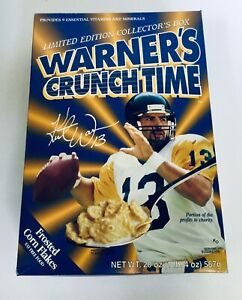 Louis Rams Super Bowl Champs Wheaties Flat Cereal Box St