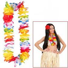 MAUI HAWAII BLÜTENKETTE Blumenkette Blütenkranz Leis Hulakette Kostüm Party 9135