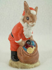 Authentic Royal Doulton 1981 Bunnykins Happy Christmas~Db17~Mint~Perfe ct