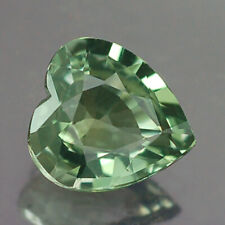 0.91CT AWESOME VVS UNHEATED HEART GREEN SAPPHIRE NATURAL