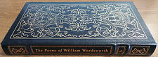 EASTON PRESS - THE POEMS OF WILLIAM WORDSWORTH - EXCELLENT