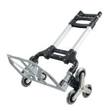 176lbs Folding Hand Truck Safty Portable Use Luggage Cart For Warehouse Trolley