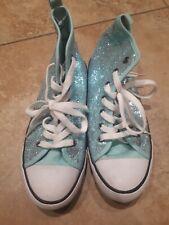 Spot on H3R037 Filles Noir Verni Lacet Chaussures Avec Deco Pampilles R9A