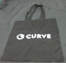 Curve -Cotton Tote Shopping Bag 37cm x 42cm Black- New