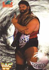 Fred Ottman - Wrestling; Tugboat/Typhoon signed photo