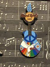 Hard Rock Cafe - Bucharest Peace Guitar PIn