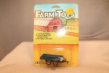 Ertl Farm Toys Diecast Implements Manure Spreader, Blue, Mint Boxed, Lot B