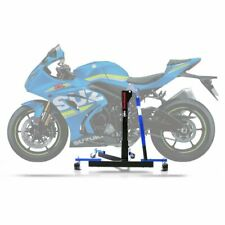 Cavalletto Centrale Constands Power Evo Suzuki GSX-R 1000 R 17-20 blu