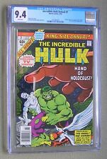 Incredible Hulk Annual #7 (Marvel 1978) CGC 9.4 (NM) John Byrne cover