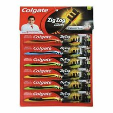 5 X Colgate Zig Zag Black SOFT Tooth Brush Toothbrush Deep Cleaning Betwn Teeth