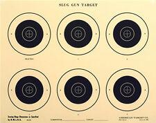 "(50) SG-50 Official 50-Yard NMLRA Slug Gun Six Bull Target [17.5"" x 22""] on tag"