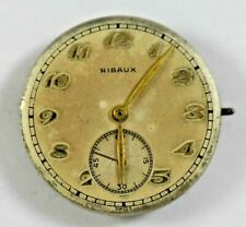 Vintage Swiss Made Ribaux Manual Wind 7J Wrist Watch Movement Good Balance lot.f
