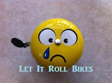 BICYCLE BIG BELL EMOJI FACE  DING DONG BELL 80MM NEW!