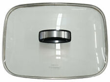 """Presto Glass Cover with Handle For 16"""" Electric Skillets, 85867"""