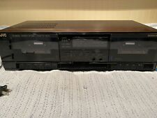 JVC TD-W220 Cassette Deck. Clean And Functioning!