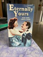 Eternally Yours VHS David Niven Loretta Young Brand New Sealed Black & White VHS